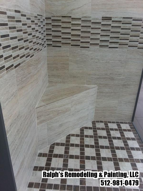 Walk in bathroom conversion